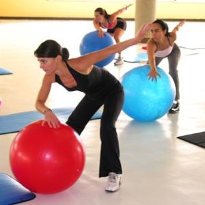 Pilates y las bolas chinas